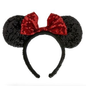 Minnie Mouse Ears Headband - Sequined